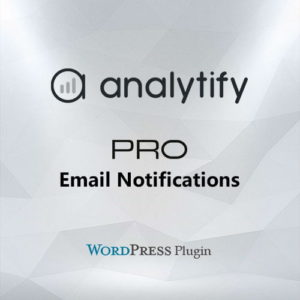Sale! Buy Discount Analytify Pro Email Notifications Add-on - Cheap Discount Price