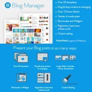 Sale! Buy Discount Blog Manager for WordPress - Cheap Discount Price