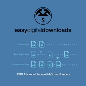 Sale! Buy Discount Easy Digital Downloads Advanced Sequential Order Numbers - Cheap Discount Price