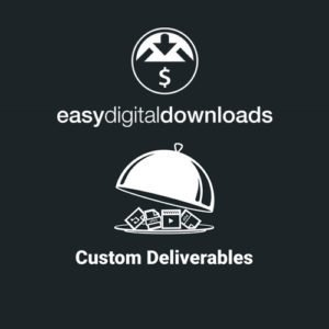 Sale! Buy Discount Easy Digital Downloads Custom Deliverables - Cheap Discount Price