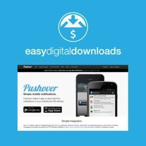 Sale! Buy Discount Easy Digital Downloads Pushover Notifications - Cheap Discount Price