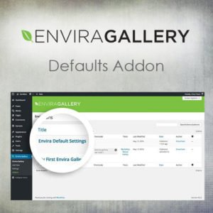 Sale! Buy Discount Envira Gallery – Defaults Addon - Cheap Discount Price