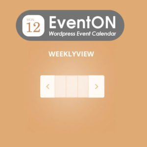 Sale! Buy Discount EventOn Weekly View - Cheap Discount Price