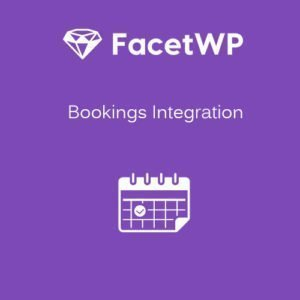 Sale! Buy Discount FacetWP – Bookings Integration - Cheap Discount Price