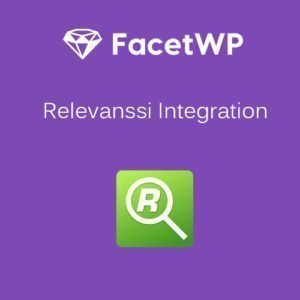 Sale! Buy Discount FacetWP – Relevanssi Integration - Cheap Discount Price
