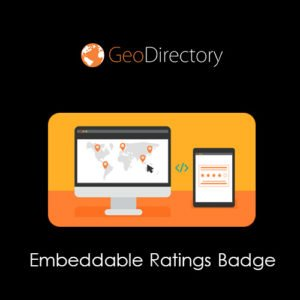 Sale! Buy Discount GeoDirectory Embeddable Ratings Badge - Cheap Discount Price