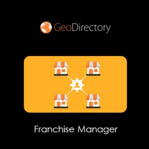 Sale! Buy Discount GeoDirectory Franchise Manager - Cheap Discount Price