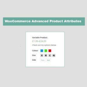 Sale! Buy Discount JC WooCommerce Advanced Attributes - Cheap Discount Price