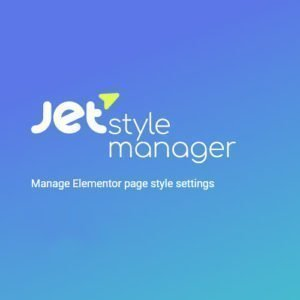 Sale! Buy Discount JetStyleManager for Elementor - Cheap Discount Price