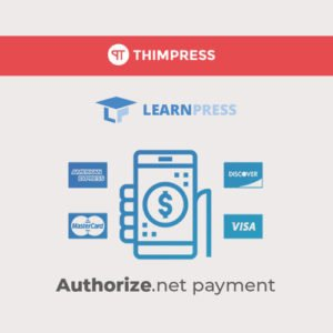 Sale! Buy Discount LearnPress – Authorize.Net Payment Addon - Cheap Discount Price