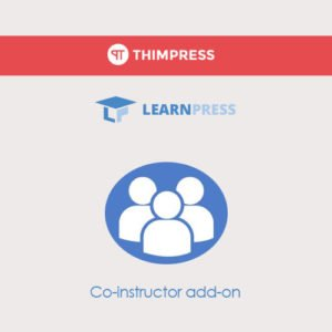 Sale! Buy Discount LearnPress – Co-Instructors - Cheap Discount Price