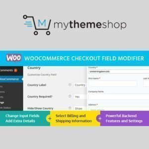 Sale! Buy Discount MyThemeShop WooCommerce Checkout Field Modifier - Cheap Discount Price