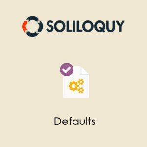 Sale! Buy Discount Soliloquy Defaults Addon - Cheap Discount Price