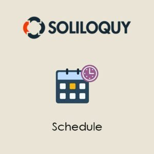 Sale! Buy Discount Soliloquy Schedule Addon - Cheap Discount Price