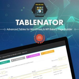 Sale! Buy Discount Tablenator – Advanced Tables for Visual Composer - Cheap Discount Price