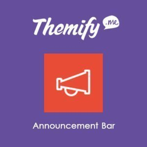 Sale! Buy Discount Themify Announcement Bar - Cheap Discount Price