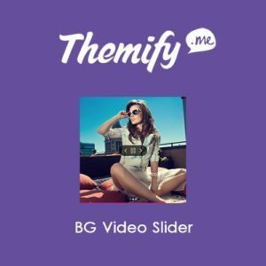 Sale! Buy Discount Themify Builder BG Video Slider - Cheap Discount Price