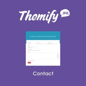 Sale! Buy Discount Themify Builder Contact - Cheap Discount Price