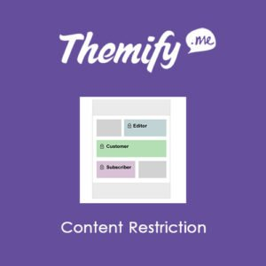 Sale! Buy Discount Themify Builder Content Restriction - Cheap Discount Price