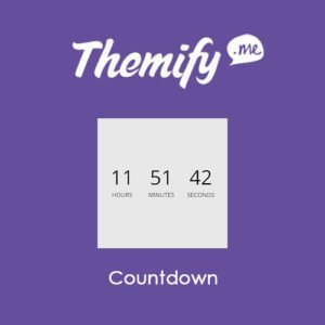 Sale! Buy Discount Themify Builder Countdown - Cheap Discount Price