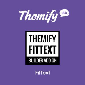Sale! Buy Discount Themify Builder FitText - Cheap Discount Price