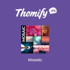 Sale! Buy Discount Themify Builder Mosaic - Cheap Discount Price