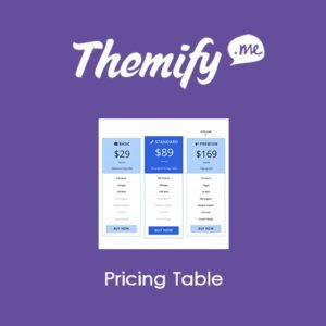 Sale! Buy Discount Themify Builder Pricing Table - Cheap Discount Price
