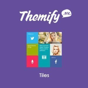 Sale! Buy Discount Themify Builder Tiles Addon - Cheap Discount Price