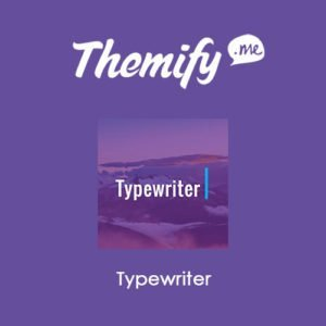 Sale! Buy Discount Themify Builder Typewriter Addon - Cheap Discount Price
