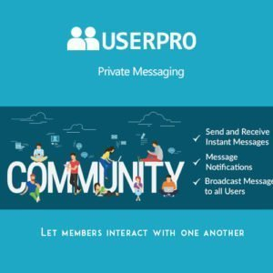 Sale! Buy Discount UserPro – Private Messages Add-on - Cheap Discount Price