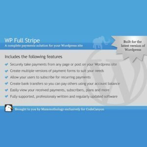 Sale! Buy Discount WP Full Stripe – Subscription and payment plugin for WordPress - Cheap Discount Price