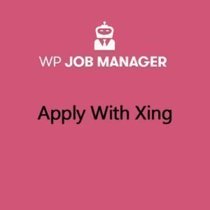 Sale! Buy Discount WP Job Manager Apply With Xing Addon - Cheap Discount Price