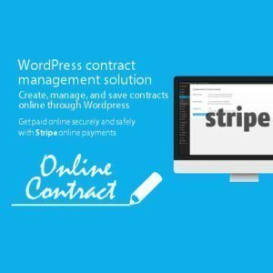Sale! Buy Discount WP Online Contract Stripe Payments - Cheap Discount Price