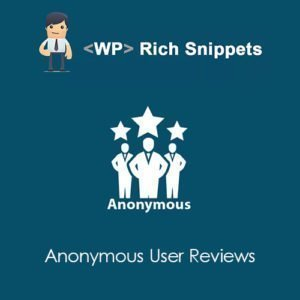 Sale! Buy Discount WP Rich Snippets Anonymous User Reviews - Cheap Discount Price