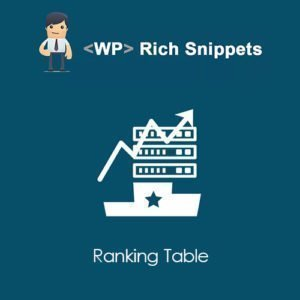 Sale! Buy Discount WP Rich Snippets Ranking Table - Cheap Discount Price