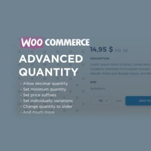Sale! Buy Discount WooCommerce Advanced Quantity - Cheap Discount Price