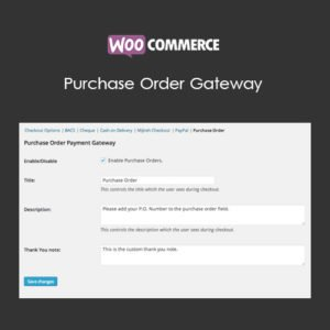 Sale! Buy Discount WooCommerce Purchase Order Gateway - Cheap Discount Price