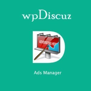Sale! Buy Discount wpDiscuz – Ads Manager - Cheap Discount Price