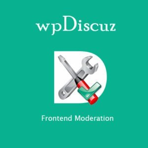 Sale! Buy Discount wpDiscuz – Frontend Moderation - Cheap Discount Price