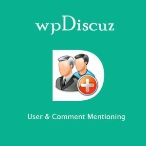 Sale! Buy Discount wpDiscuz User & Comment Mentioning - Cheap Discount Price