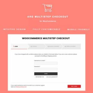 Sale! Buy Discount ARG Multistep Checkout for WooCommerce - Cheap Discount Price