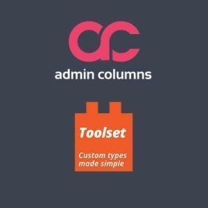 Sale! Buy Discount Admin Columns Pro Toolset Types - Cheap Discount Price