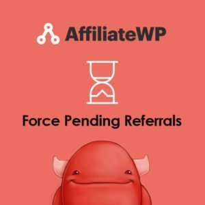 Sale! Buy Discount AffiliateWP – Force Pending Referrals - Cheap Discount Price