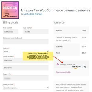 Sale! Buy Discount Amazon Pay WooCommerce payment gateway - Cheap Discount Price