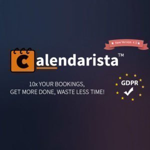 Sale! Buy Discount Calendarista Premium Edition – WordPress appointment booking System - Cheap Discount Price