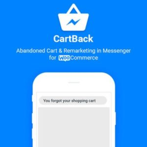 Sale! Buy Discount CartBack – WooCommerce Abandoned Cart & Remarketing in Facebook Messenger - Cheap Discount Price