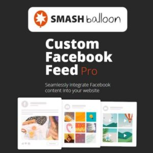 Sale! Buy Discount Custom Facebook Feed Pro By Smash Balloon - Cheap Discount Price
