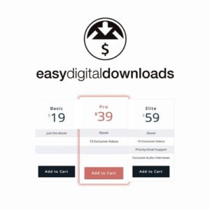 Sale! Buy Discount Easy Digital Downloads Pricing Tables - Cheap Discount Price