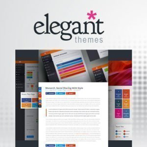 Sale! Buy Discount Elegant Themes Monarch Social Media Sharing - Cheap Discount Price