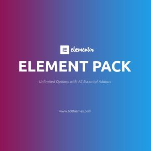 Sale! Buy Discount Element Pack – Addon for Elementor - Cheap Discount Price